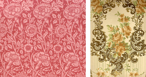 Pink & Rose Charles Rupert Designs : Victorian Roses comparison