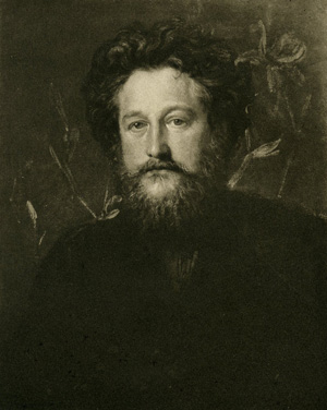 William Morris - aged 37 in 1871