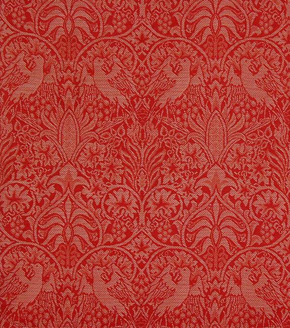 Bird Vine Woven Wool Fabric Designed By William Morris In 1878 It